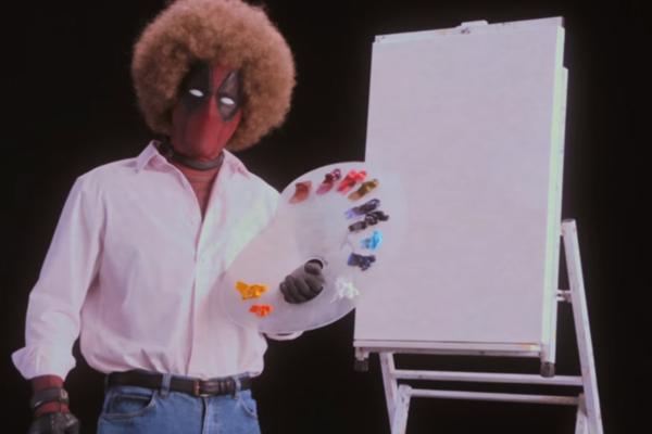 『デッドプール2』予告編が公開!画家ボブ・ロスを盛大パロディ!