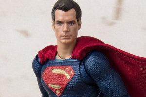 S.H.フィギュアーツ新作!スーパーマン(ジャスティスリーグ)が登場!MAFEXとの違いはどこなのか?