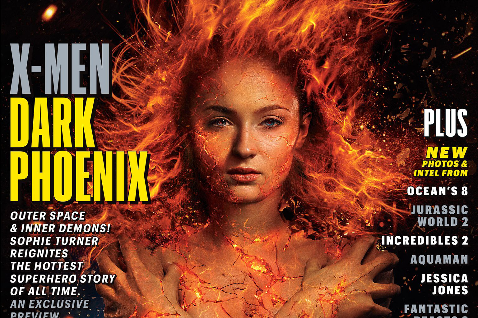 『X-MEN:ダークフェニックス』の写真が公開!ダークフェニックスの姿やミスティークの姿も!