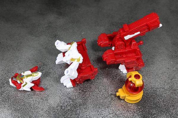 ミニプラ コジシボイジャー スーパーシシボイジャー キュータマ合体シリーズ07 レビュー