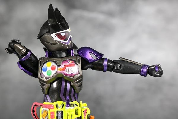 S.H.フィギュアーツ 仮面ライダーゲンム アクションゲーマー レベル2 スポーツゲーマ レビュー 可動