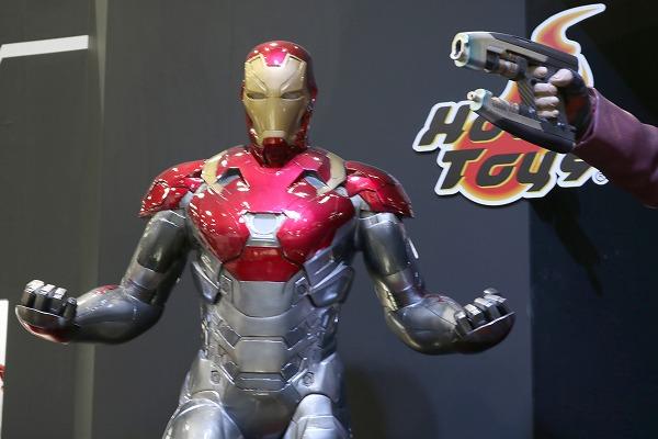 東京コミコン2017 ホットトイズ スターロード アイアンマン スパイダーマン
