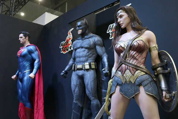東京コミコン2017 ホットトイズ スーパーマン バットマン ワンダーウーマン
