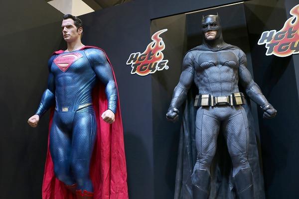 東京コミコン2017 ホットトイズ スーパーマン バットマン