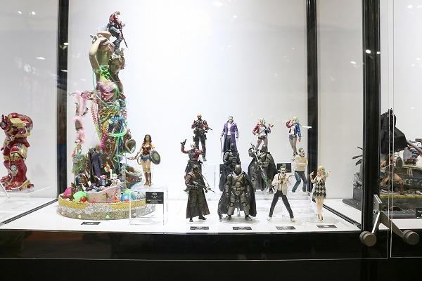 東京コミコン 2017 メディコム・トイ バットマン スーサイド・スクワッド