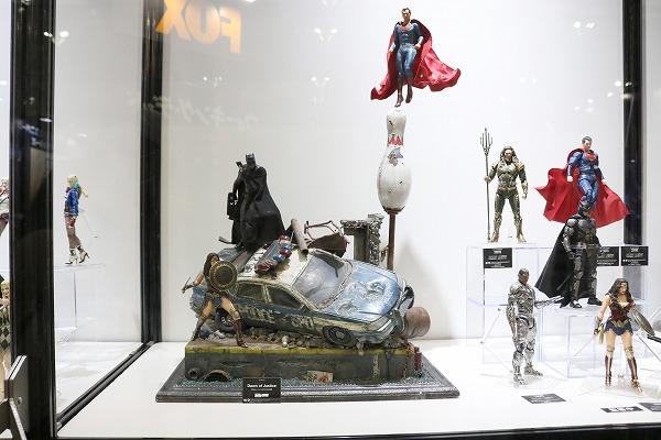 東京コミコン 2017 メディコム・トイ ジャスティスリーグ スーパーマン バットマン ワンダーウーマン