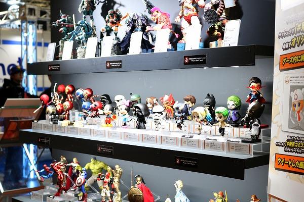【東京コミコン2017】超造形フィギュアの祭典!「グッスマ・海洋堂・メガハウス・コトブキヤ」ブースをレポート!