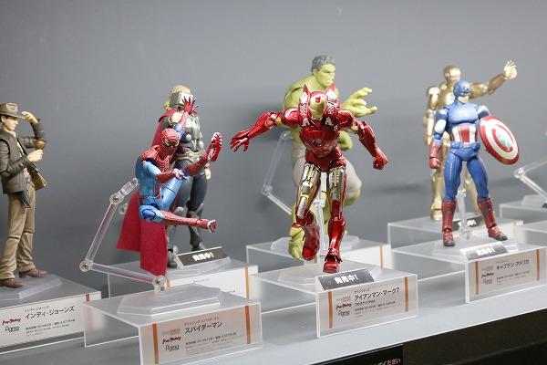 東京コミコン2017 グッドスマイルカンパニー figma アイアンマン マーク7