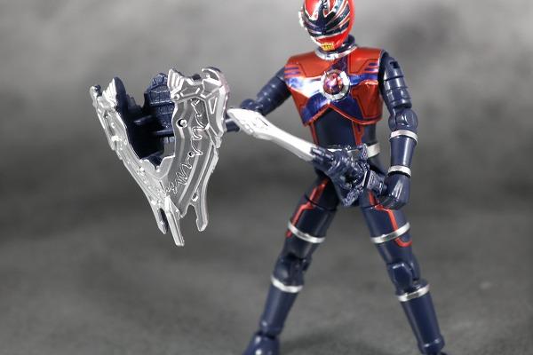 勇動 宇宙戦隊キュウレンジャー  ホウオウソルジャー 付属品 レビュー