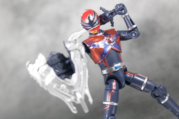 勇動 宇宙戦隊キュウレンジャー ホウオウソルジャー アクション レビュー