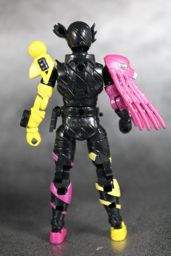 創動 仮面ライダービルド BUILD4 オクトパスライト  レビュー