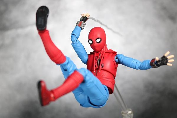 S.H.フィギュアーツ スパイダーマン(ホームカミング) ホームメイドスーツVer. レビュー