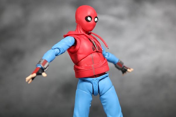 S.H.フィギュアーツ スパイダーマン(ホームカミング) ホームメイドスーツVer. レビュー 可動