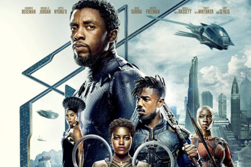 『ブラックパンサー』の最新ポスターが公開!主要キャラが並ぶデザインに!