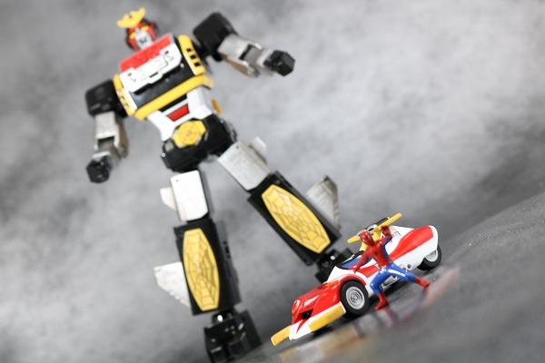 超合金魂 GX-33 レオパルドン&スパイダーマン&スパイダーマシンGP-7 アクション カイゾクソウジキ レビュー