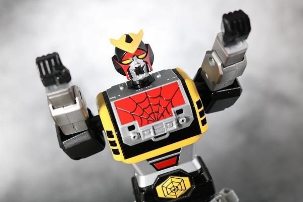 超合金魂 GX-33 レオパルドン&スパイダーマン&スパイダーマシンGP-7 アクション レビュー