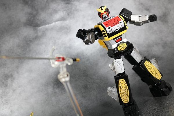 超合金魂 GX-33 レオパルドン&スパイダーマン&スパイダーマシンGP-7 アクション ライオンライト レビュー
