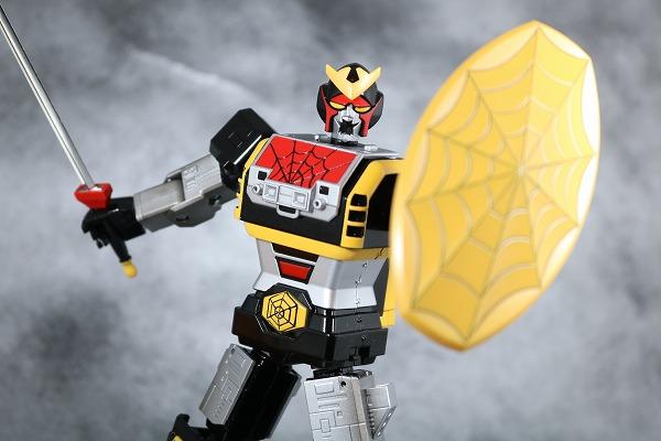 超合金魂 GX-33 レオパルドン&スパイダーマン&スパイダーマシンGP-7 アクション ニンジャライト レビュー