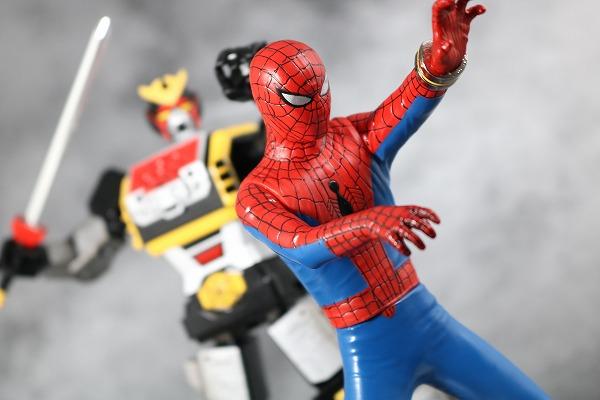 超合金魂 GX-33 レオパルドン&スパイダーマン&スパイダーマシンGP-7 オクトパスタンク アクション レビュー