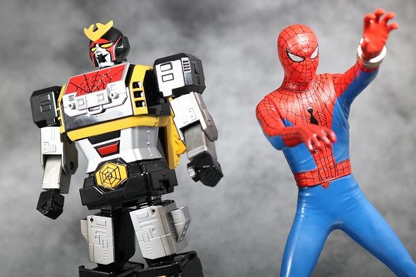 超合金魂 GX-33 レオパルドン&スパイダーマン&スパイダーマシンGP-7 レビュー