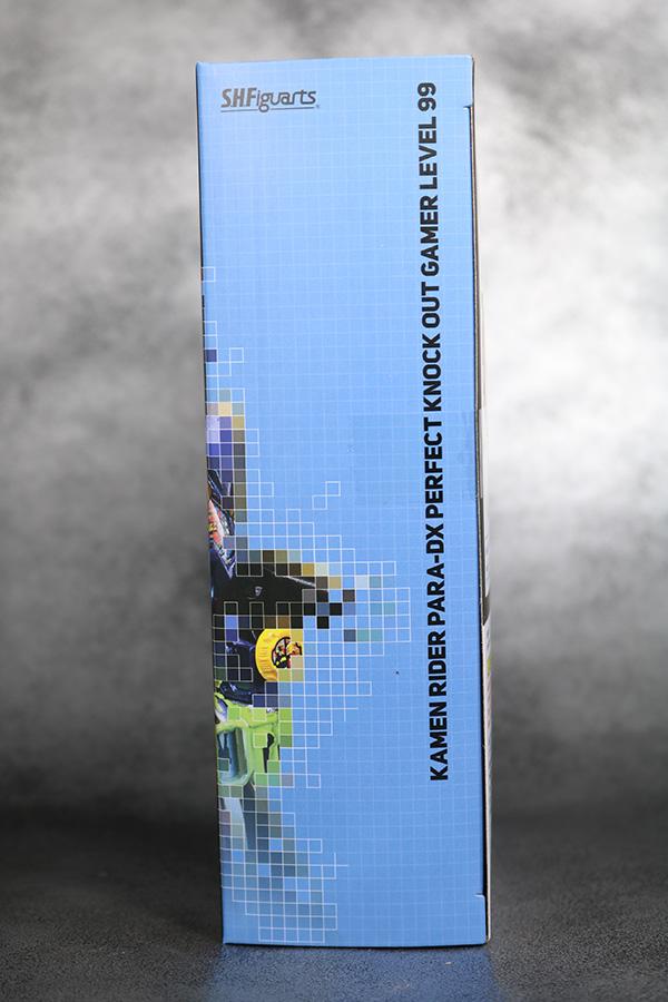 S.H.フィギュアーツ 仮面ライダーパラドクス パーフェクトノックアウトゲーマー レベル99  レビュー 箱 パッケージ