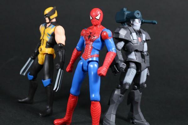 ハイパーモーションズ スパイダーマン ディスクウォーズ・アベンジャーズ レビュー アクション