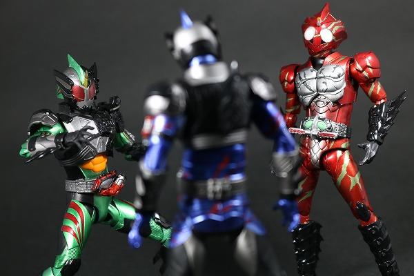 S.H.フィギュアーツ 仮面ライダーアマゾンアルファ(2nd season Ver.) レビュー アクション