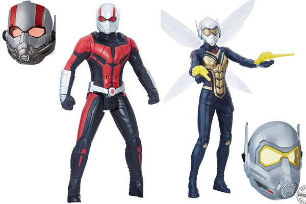 『アントマン&ワスプ』の玩具画像到着!再現度の高いマスクも発売!