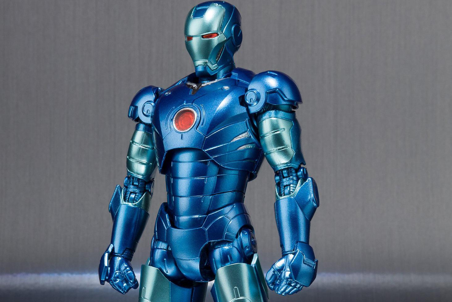 S.H.フィギュアーツ新作!青いアイアンマン マーク3がイベント限定発売!
