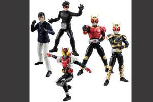 SHODO新作!仮面ライダーVS9に本郷猛、クウガ、キバなどがラインナップ!