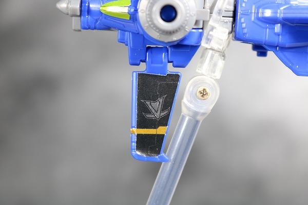 ミニプラ ルパンカイザー VSビークル合体シリーズ01 ブルーダイヤルファイター 全身 レビュー