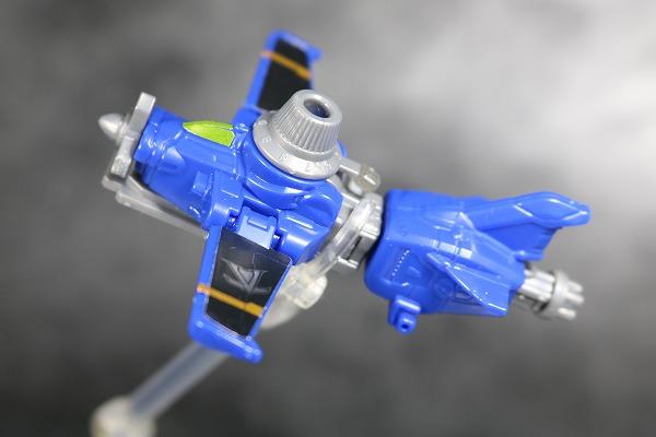 ミニプラ ルパンカイザー VSビークル合体シリーズ01 ブルーダイヤルファイター アクション レビュー