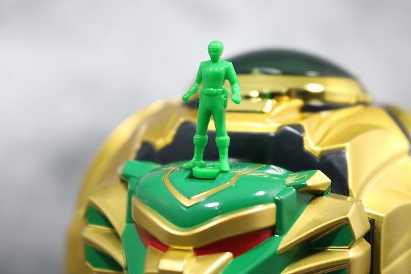 戦隊職人 大連王 星獅子 付属品 ダイレンジャー シシレンジャー レビュー