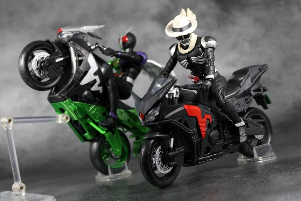 S.H.フィギュアーツ スカルボイルダー リニューアル 仮面ライダースカル レビュー アクション