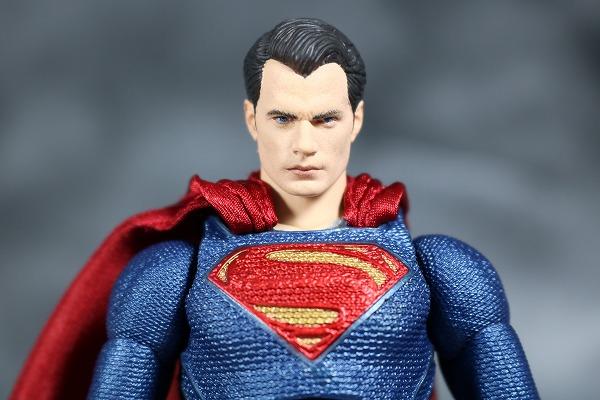 MAFEX スーパーマン ジャスティスリーグ レビュー 全身