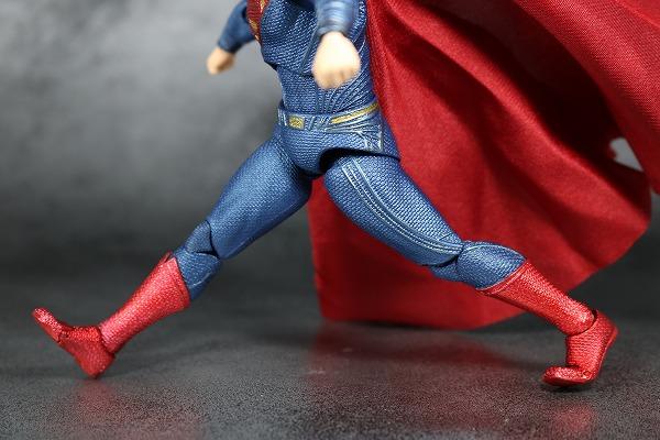 MAFEX スーパーマン ジャスティスリーグ レビュー 可動