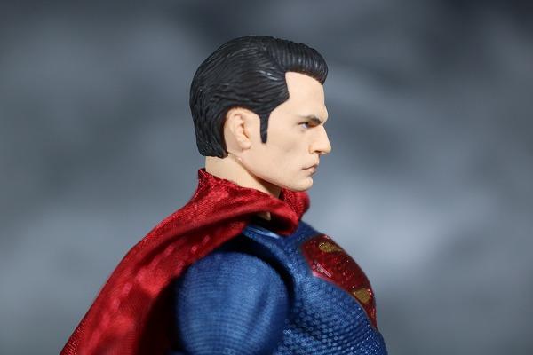 MAFEX スーパーマン ジャスティスリーグ レビュー 付属品