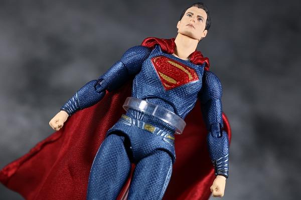 MAFEX スーパーマン ジャスティスリーグ レビュー アクション