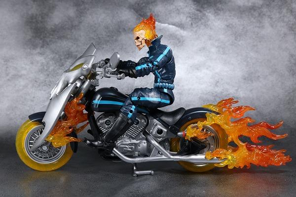 マーベルレジェンド ゴーストライダー バイク レビュー 全身