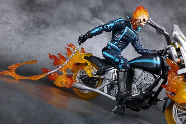マーベルレジェンド ゴーストライダー バイク レビュー アクション