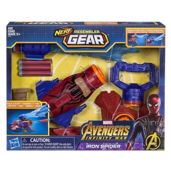 スパイダーマン Nerf Assembler Gear