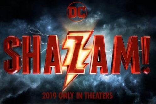 DC映画『シャザム!』のロゴデザインが公開!
