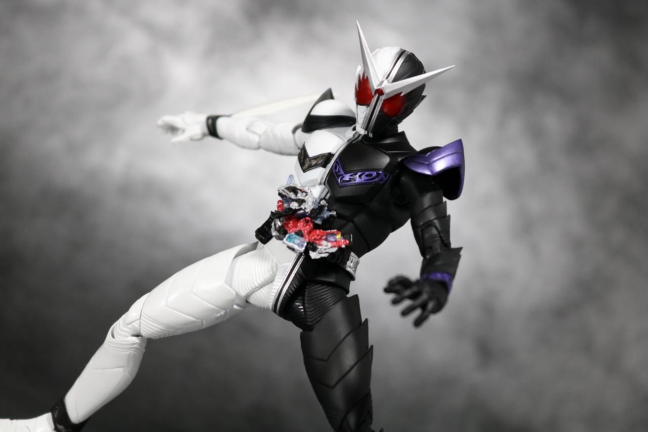 S.H.フィギュアーツ 仮面ライダーW ファングジョーカー 真骨彫製法 レビュー アクション