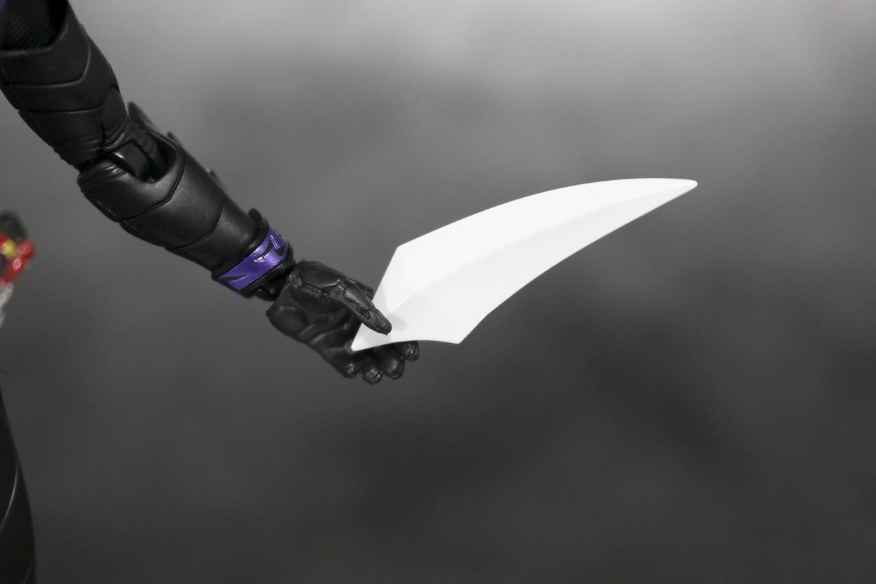 S.H.フィギュアーツ 仮面ライダーW ファングジョーカー 真骨彫製法 レビュー 付属品