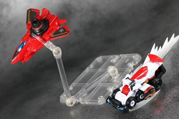 ミニプラ パトカイザー VSビークル合体シリーズ02 トリガーマシン1号 アクション レビュー