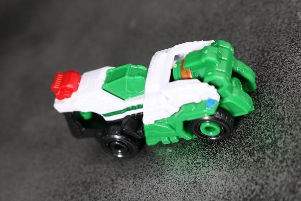 ミニプラ パトカイザー VSビークル合体シリーズ02 トリガーマシン2号 アクション レビュー