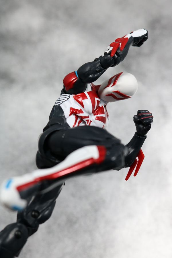 マーベルレジェンド スパイダーマン2099 オールニュー・オールディファレント・マーベル レビュー アクション