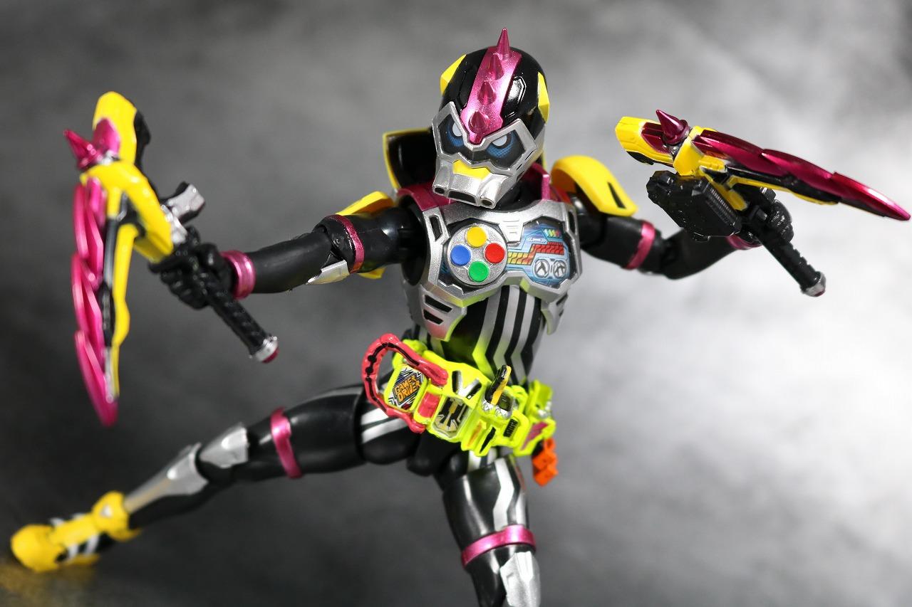 S.H.フィギュアーツ 仮面ライダーレーザーターボ バイクゲーマー レベル0 レビュー アクション