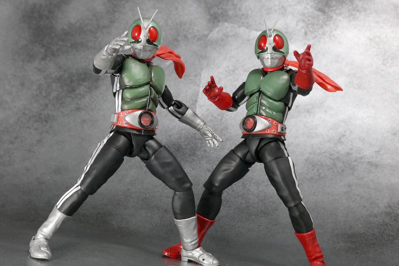 S.H.フィギュアーツ 仮面ライダー新2号 真骨彫製法 レビュー アクション