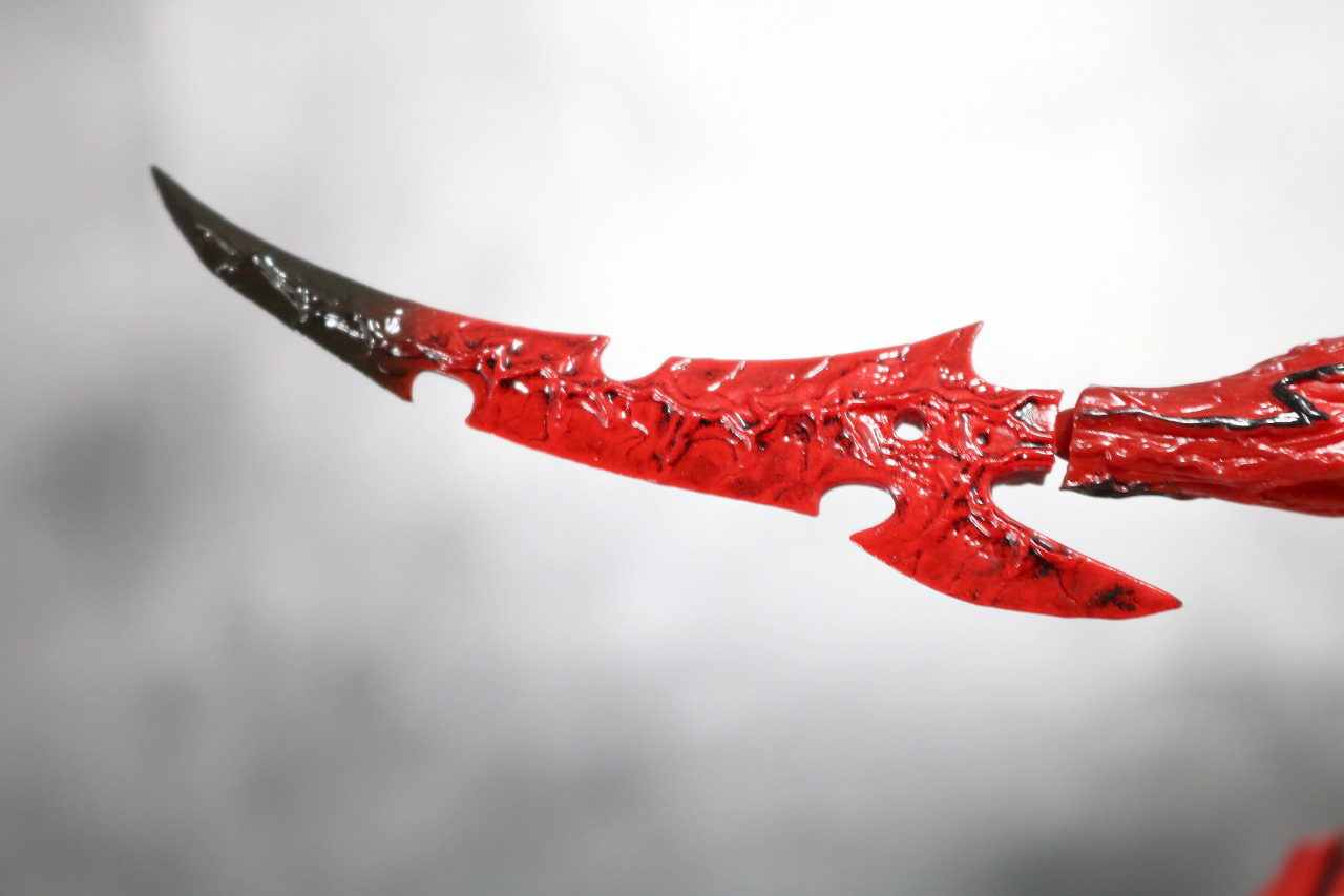 リボルテック アメイジングヤマグチ Amazing Yamaguchi カーネイジ レビュー 付属品